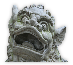 Stone Tiger Face